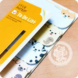 stick-marker-to-do-list-sticky-note-pad-animal-papeterie-kawaii-boutique-en-ligne-chezfee-com-chien